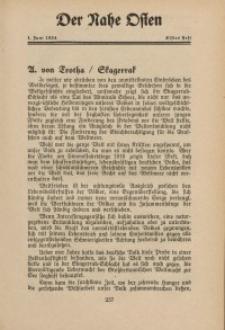 Der Nahe Osten, 1. Juni 1934, 7. Jahrgang, H. 11