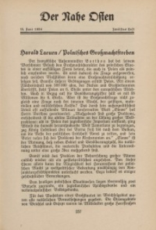 Der Nahe Osten, 15. Juni 1934, 7. Jahrgang, H. 12