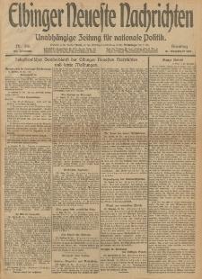 Elbinger Neueste Nachrichten, Nr. 316 Sonntag 29 Dezember 1912 64. Jahrgang