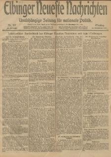 Elbinger Neueste Nachrichten, Nr. 317 Montag 30 Dezember 1912 64. Jahrgang