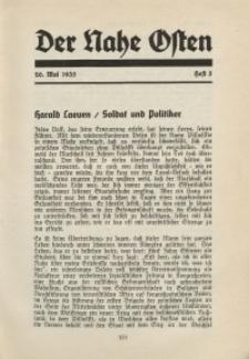 Der Nahe Osten, 20. Mai 1935, 8. Jahrgang, H. 5
