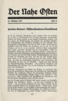 Der Nahe Osten, 20. Oktober 1935, 8. Jahrgang, H. 10