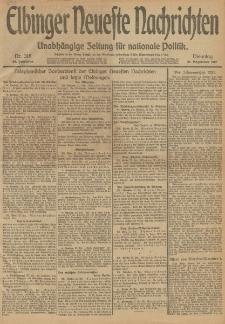 Elbinger Neueste Nachrichten, Nr. 318 Dienstag 31 Dezember 1912 64. Jahrgang