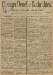 Elbinger Neueste Nachrichten, Nr. 1 Donnerstag 2 Januar 1913 65. Jahrgang