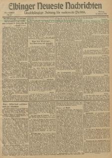 Elbinger Neueste Nachrichten, Nr. 2 Donnerstag 3 Januar 1913 65. Jahrgang