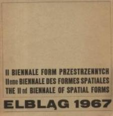 II Biennale Form Przestrzennych - informator