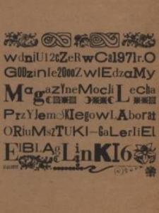 Lech Przyjemski w Galerii EL – zaproszenie