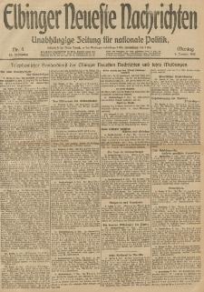 Elbinger Neueste Nachrichten, Nr. 5 Montag 6 Januar 1913 65. Jahrgang