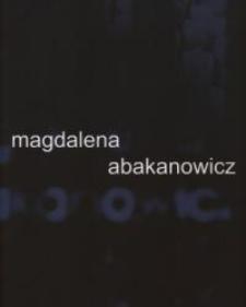 Magdalena Abakanowicz w Galerii EL – folder