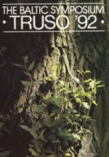 The Baltic Symposium Truso '92: katalog