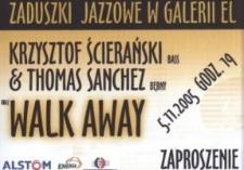 Zaduszki Jazzowe w Galerii EL – zaproszenie na koncert