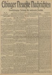 Elbinger Neueste Nachrichten, Nr. 10 Sonnabend 11 Januar 1913 65. Jahrgang