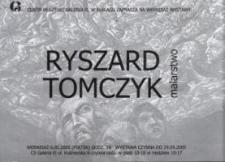Ryszard Tomczyk: malarstwo – zaproszenie