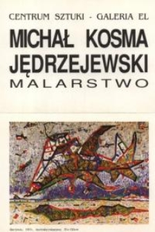 Michał Kosma-Jędrzejewski: malarstwo – folder