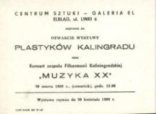 Plastycy z Kaliningradu – zaproszenie na wystawę