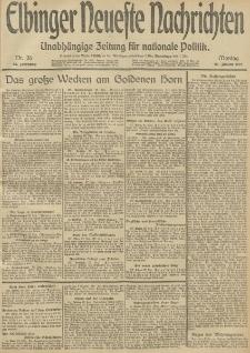 Elbinger Neueste Nachrichten, Nr. 26 Montag 27 Januar 1913 65. Jahrgang