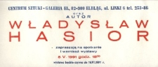 Władysław Hasior – zaproszenie na wystawę