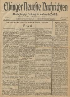 Elbinger Neueste Nachrichten, Nr. 181 Sonnabend 5 Juli 1913 65. Jahrgang