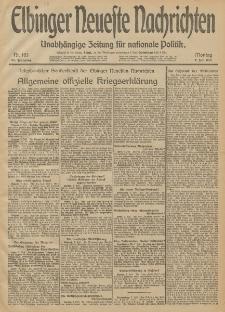 Elbinger Neueste Nachrichten, Nr. 183 Montag 7 Juli 1913 65. Jahrgang
