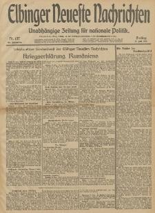 Elbinger Neueste Nachrichten, Nr. 187 Freitag 11 Juli 1913 65. Jahrgang