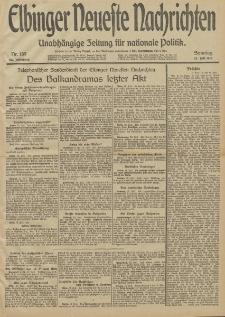 Elbinger Neueste Nachrichten, Nr. 189 Sonntag 13 Juli 1913 65. Jahrgang