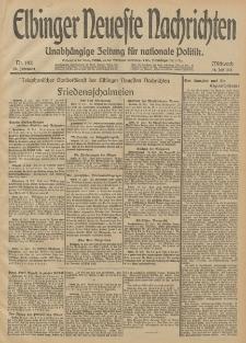Elbinger Neueste Nachrichten, Nr. 192 Mittwoch 16 Juli 1913 65. Jahrgang
