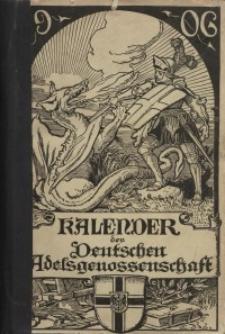 Kalender der Deutschen Adelsgenossenschaft, J. 1906