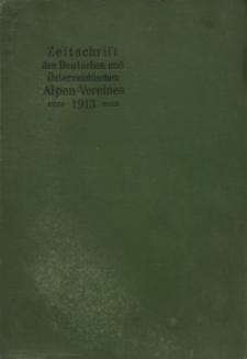Zeitschrift des Deutschen und Österreichischen Alpenvereins, Jahrgang 1913, Bd.XLIV