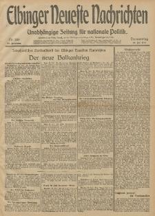 Elbinger Neueste Nachrichten, Nr. 200 Donnerstag 24 Juli 1913 65. Jahrgang