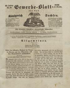 Gewerbe-Blatt Königreich Sachsen. Jahrg. II, 17. November, nr 2.
