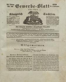 Gewerbe-Blatt Königreich Sachsen. Jahrg. II, 2. Februar, nr 13.