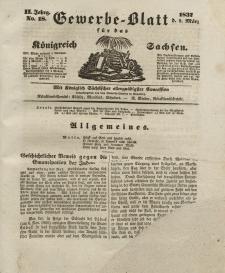 Gewerbe-Blatt Königreich Sachsen. Jahrg. II, 9. März, nr 18.