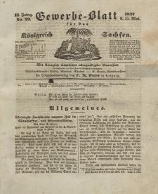 Gewerbe-Blatt Königreich Sachsen. Jahrg. II, 25. Mai, nr 29.