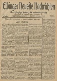 Elbinger Neueste Nachrichten, Nr. 204 Montag 28 Juli 1913 65. Jahrgang