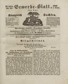 Gewerbe-Blatt Königreich Sachsen. Jahrg. II, 5. Oktober, nr 48.