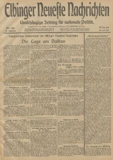 Elbinger Neueste Nachrichten, Nr. 206 Mittwoch 30 Juli 1913 65. Jahrgang