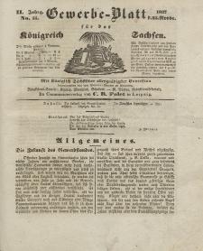 Gewerbe-Blatt Königreich Sachsen. Jahrg. II, 23. November, nr 55.