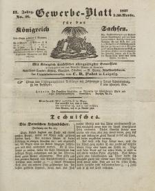 Gewerbe-Blatt Königreich Sachsen. Jahrg. II, 30. November, nr 56.