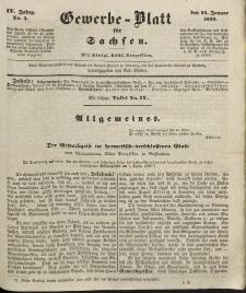 Gewerbe-Blatt für Sachsen. Jahrg. IV, 24. Januar, nr 4.