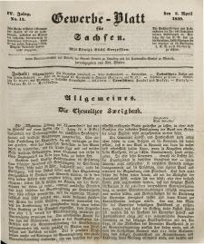 Gewerbe-Blatt für Sachsen. Jahrg. IV, 4. April, nr 14.