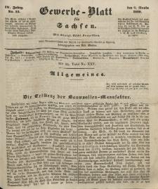 Gewerbe-Blatt für Sachsen. Jahrg. IV, 7. November, nr 45.