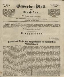 Gewerbe-Blatt für Sachsen. Jahrg. IV, 19. Dezember, nr 51.