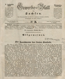 Gewerbe-Blatt für Sachsen. Jahrg. V, 16. Januar, nr 3.