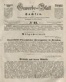 Gewerbe-Blatt für Sachsen. Jahrg. V, 12. März, nr 11.