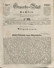 Gewerbe-Blatt für Sachsen. Jahrg. V, 28. Mai, nr 22.