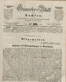 Gewerbe-Blatt für Sachsen. Jahrg. V, 23. Juli, nr 30.