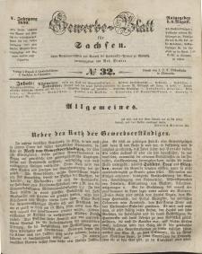 Gewerbe-Blatt für Sachsen. Jahrg. V, 6. August, nr 32.