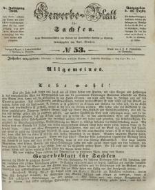 Gewerbe-Blatt für Sachsen. Jahrg. V, 31. Dezember, nr 53.