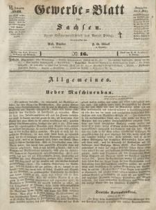 Gewerbe-Blatt für Sachsen. Jahrg. VI, 2. März, nr 16.