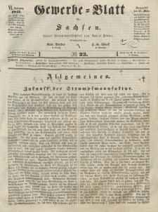 Gewerbe-Blatt für Sachsen. Jahrg. VI, 26. März, nr 23.